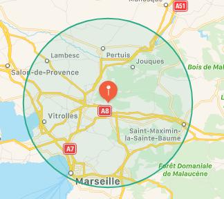 Toscan 30 km
